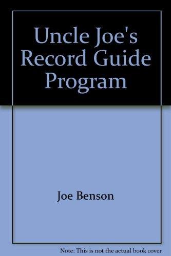 9780943031118: Uncle Joe's Record Guide Progressive Rock