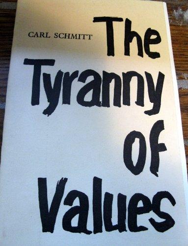 9780943045115: The Tyranny of Values