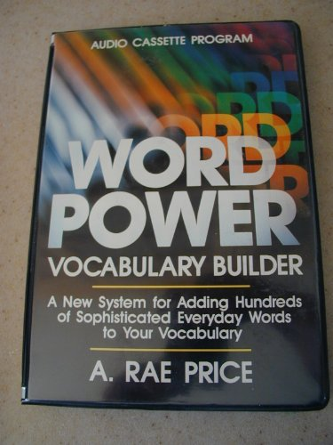 Word Power Vocabulary Builders: Price, Rae A.