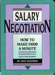 9780943066684: Salary Negotiation : How To Make $1000 A Minute (Audio Tape Seminar)