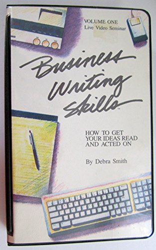 9780943066929: Business Writing Skills - VHS (Volume 1)