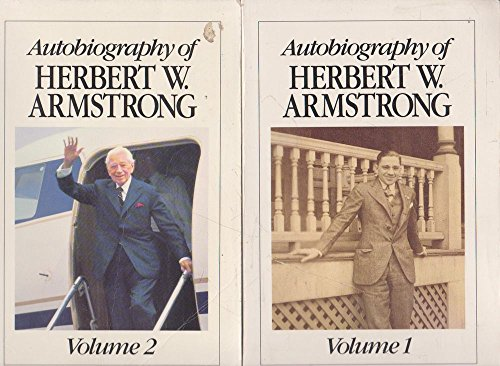 9780943093048: Autobiography of Herbert W. Armstrong Volume 2