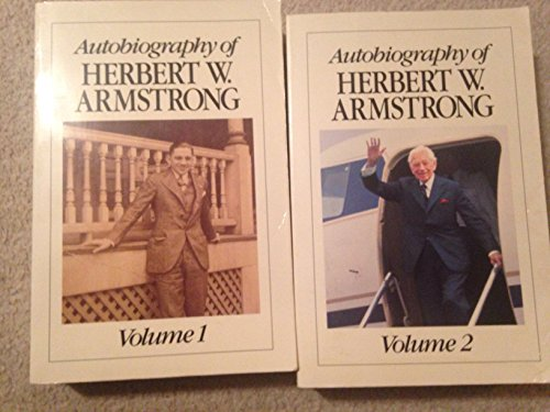 9780943093055: Autobiography of Herbert W Armstrong 2 Volume Set