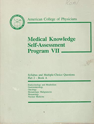 9780943126029: Medical knowledge self-assessment program VII