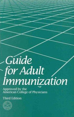9780943126234: Guide for Adult Immunization