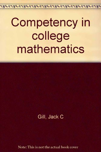 9780943202099: Competency in college mathematics