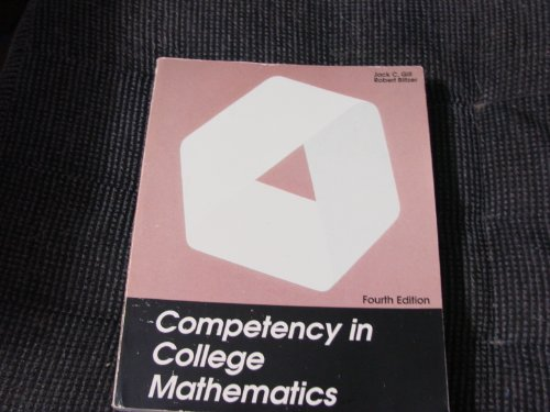 9780943202198: Competency in College Mathematics, 4th edition