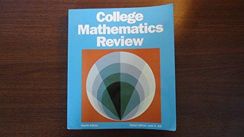9780943202402: College Mathematics Review