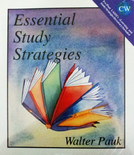 9780943202716: Essential Study Strategies