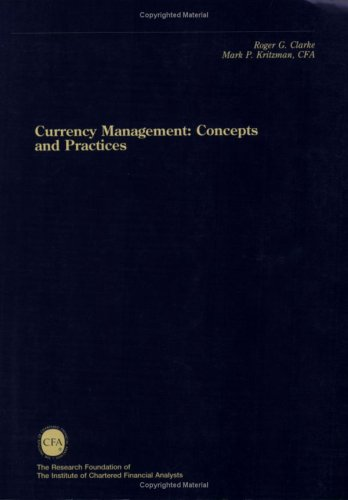 9780943205335: Currency Management: Concepts and Practices