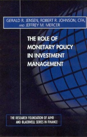 9780943205502: The Role of Monetary Policy in Investment Management