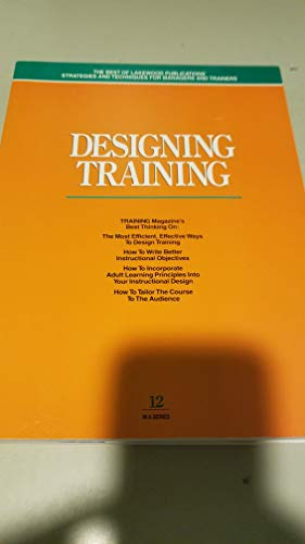 Designing Training: Geber, B.