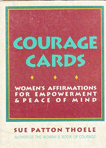 9780943233314: Courage Cards: Women's Affirmations for Empowerment & Peace of Mind