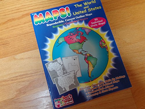 Maps - The World and United States (0943263204) by Karen Sevaly