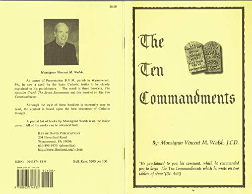 The Ten Commandments: j.c.d. monsignor vincent