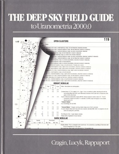 9780943396385: The Deep Sky Field Guide to Uranometria 2000.0