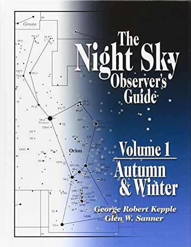 9780943396583: The Night Sky Observer's Guide : Vol. 1