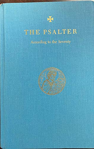 9780943405001: The Psalter: According to the Seventy