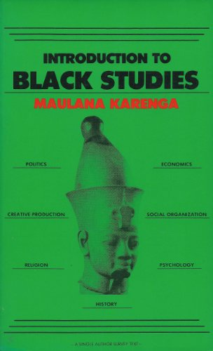 9780943412009: Introduction to Black studies