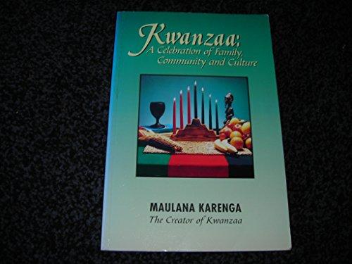 9780943412207: Kwanzaa: A Celebration of Family, Community & Culture