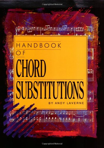 9780943485188: Handbook of Chord Substitutions