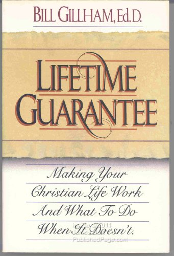 Feb 15,  · Buy a cheap copy of Lifetime Guarantee book by Bill Gillham. You've tried fixing your marriage, your kids, your job. Suddenly the light dawns. It's not your problems that need to be fixed--it's your life! The good news, says Free shipping over $/5(5).