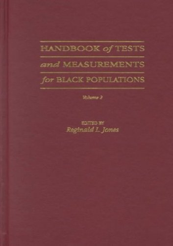 9780943539089: 2: Handbook of Tests and Measurements for Black Populations