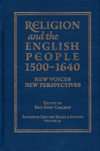 9780943549620: Religion and the English People, 1500-1640: New Voices New Perspectives (Sixteenth Century Essays & Studies, V. 45)
