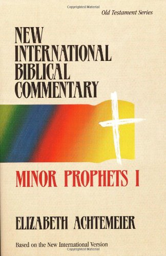 Minor Prophets I (0943575052) by Achtemeier, Elizabeth