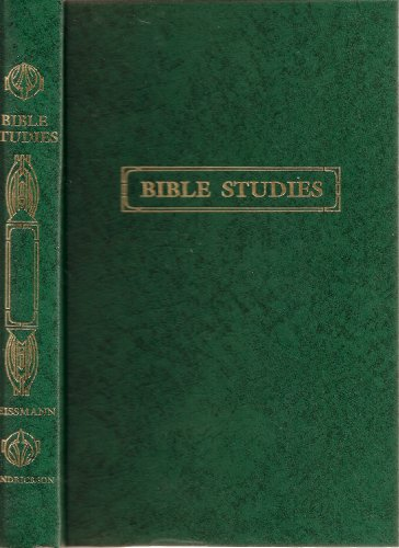 9780943575087: Bible Studies