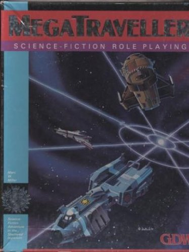 9780943580494: Megatraveller: Science Fiction Role Playing