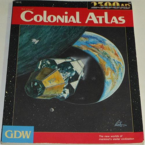 Colonial Atlas (2300AD role playing game): Rob Caswell