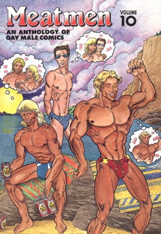 9780943595276: MEATMEN AN ANTHOLOGY OF GAY MALE COMICS: 10