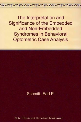 The Interpretation and Significance of the Embedded and Non-Embedded Syndromes in Behavioral ...