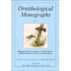Management of Cowbirds and Their Hosts: Balancing: Ortega, Catherine P.,