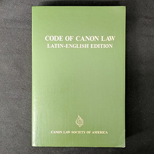 9780943616193: Title: Code of Canon Law LatinEnglish Edition