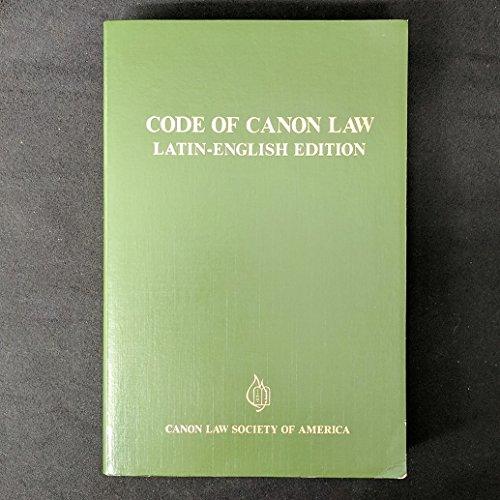 9780943616193: Code of Canon Law: Latin-English Edition