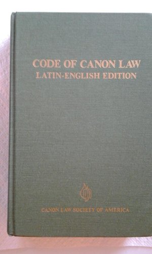 9780943616209: Code of Canon Law: Latin-English Edition (English and Latin Edition)