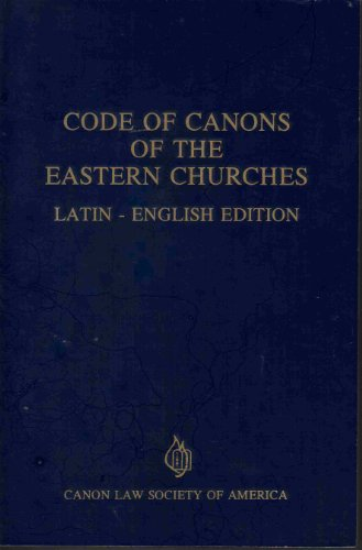 9780943616520: Code of Canons of the Eastern Churches a Study and Interpretation of Joseph Cardinal