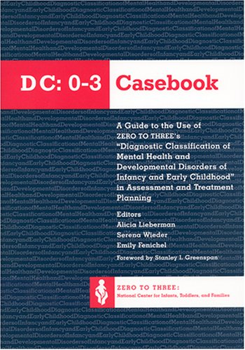 9780943657387: The Dc 0-3 Casebook: A Guide to the Use of Zero to Three's Diagnostic Classification of Mental Health & Developmental Disorders of Infancy & Early Childhood in Assessment