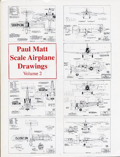 9780943691053: Paul Matt's Scale Airplane Drawings, Vol. 2