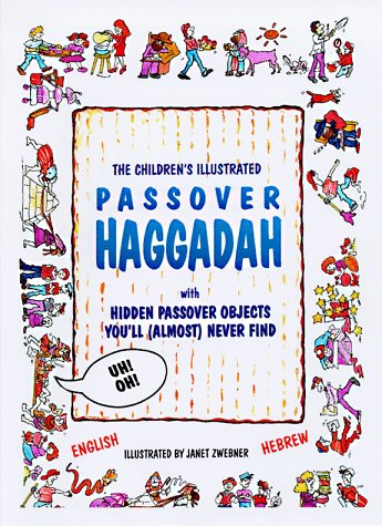 9780943706283: The Energizing Haggadah for Children in English and Hebrew (English and Hebrew Edition)