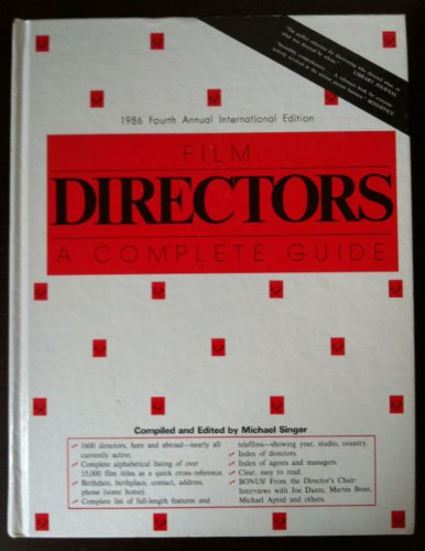 Film Directors: A Complete Guide