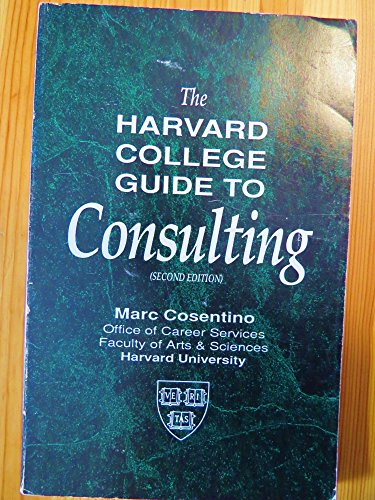 The harvard college guide to consulting case questions: marc.