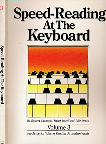 9780943748252: Speed Reading at the Keyboard, Vols. 1-3