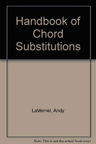 9780943748511: Handbook of Chord Substitutions