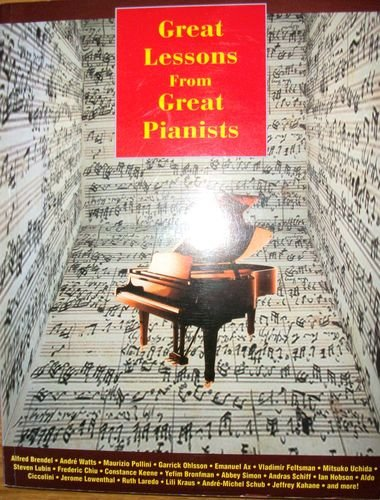 Great Lessons from Great Pianists: Isacoff, Stuart [Editor]