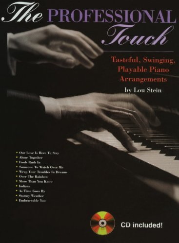 9780943748924: The Professional Touch: Tasteful, Swinging, Playable Piano Arrangements (Book & CD)