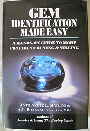 9780943763033: Gem Identification Made Easy, 1st Edition: A Hands-On Guide to More Confident Buying and Selling