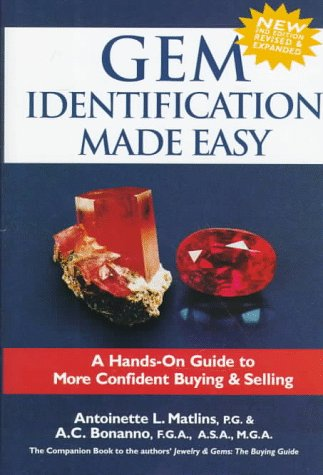 9780943763163: Gem Identification Made Easy: A Hands-On Guide to More Confident Buying & Selling, 2nd Edition
